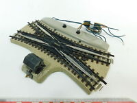BF755-0,5# Märklin/Marklin H0/00/AC E-Weiche/DKW M-Gleis für 3600/800, sehr gut