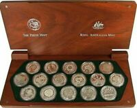 2000 SYDNEY OLYMPIC GAMES Coin Set 16 x SILVER PROOF Coins