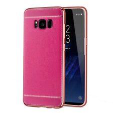 Samsung Galaxy S6 Hülle Case Handy Cover Schutz Tasche Schutzhülle Bumper Pink