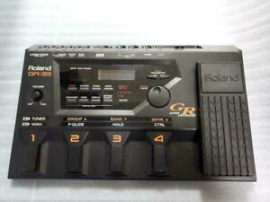 Roland GR-33 Guitar Synthesizer Effect Pedal moving work
