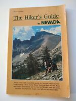 The Hiker's Guide to Nevada by Bruce Grubbs 1991 First 1st Edition