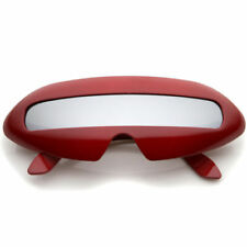 Gafas de sol de hombre escudo rojo rojo
