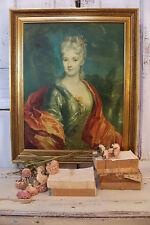 Nicolas de Largillière Mlle. Dubois Oil Painting repro