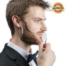 1pcs Men's Beard Combs Shaping Styling Tool Comb Transparent for Hair Beard Trim