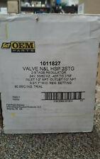 Fast Hvac Parts Oem Part 00004000 s 1011827 Valve N&L Hsp2Stg 2-Stage Regulator