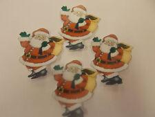 12 Precortada Comestibles christmas/xmas Santa