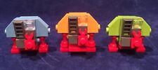 Custom Lego DEWEY HUEY LOUIE Drone Robots!  SILENT RUNNING! FREE SHIPPING! CUTE!