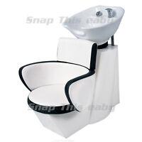 Salon Shampoo Hairdressing Back Wash Barbers Sink Basin Chair Barber Hairdresser
