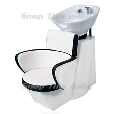 Salon Shampoo Hairdressing Back Wash Barbers Sink Basin Chair Barber Hairdresser