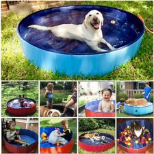 PVC Pet Pool Foldable Portable Dog Bath Tub Outdoor Water Bathing Cat Cleaning