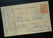 Yugoslavia 1958 Croatia Austria Uprated Postal Stationery  C18