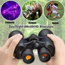 Day/ Night 180X100 Military Army Zoom Powerful Binoculars Optics Hunting Camping