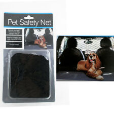 Pet Safety Net Car Suv Truck Van Seat Mesh Dog Barrier Safety Travel Black 54X42