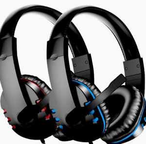 Gaming Headset with Mic for PS4, PC, Xbox One