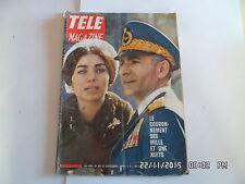 TELE MAGAZINE N°626 21/10/1967 SHAH D'IRAN FARAH DIBA CLAUDE MASSEBOEUF    I69