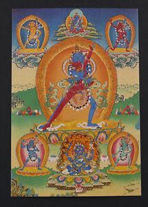 Postcard Tibetan Chakra Sambhara Vajrabarahi Art Buddhist Tibet 26295