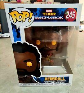Marvel funko  Thor Ragnarok Heimdall bobblehead  #245 Funko POP Figure bnib.