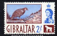 Gibraltar 2/- Stamp c1960-62 Mounted Mint Hinged (2498)