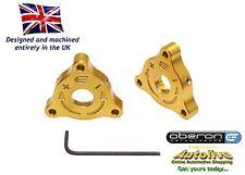 Oberon Performance Aprilia 22mm A/F Fork Preload Adjusters - PRE-0001-GOLD