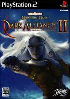 Baldur's Gate Dark Alliance 2 PS2 Inter play Sony PlayStation 2 From Japan