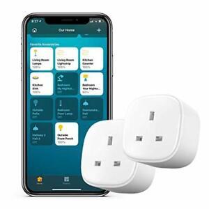 meross Smart Plug Compatible with HomeKit WiFi Plug That Works with Alexa Siri