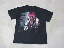 Tokio Hotel Concert Shirt Adult Medium Black Band Tour Rock Music Mens *