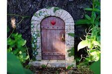 Miniature Dollhouse Fairy Garden - Charming Cobblestone Fairy Door - Accessories