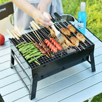 Folding Portable BBQ Charcoal Grill Barbecue Camping Hiking Picnic Fire Stove