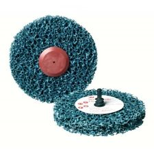 3M Scotch-Brite Roloc+ Clean & Strip Disc GP Blue 100 mm x 13 mm