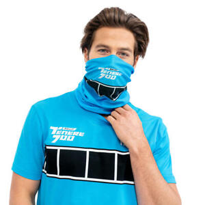 Official Yamaha Tenere 700 Rally Blue Motorbike Neck Tube Scarf Snood