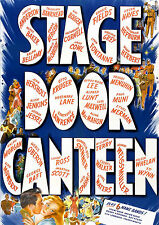 Stage Door Canteen (1943) DVD Katharine Hepburn & an All-Star Cast