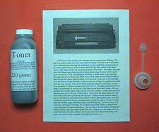 220g Toner Refill Kit for HP LaserJet 5P 5MP 6P 6MP 6Pse 6Psi 6Pxi C3903A LBP-VX