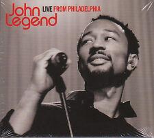 JOHN LEGEND - LIVE FROM PHILADELPHIA - CD+DVD (NUOVO SIGILLATO) DIGIPACK