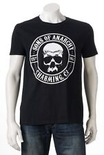 Sons of Anarchy Charming CA Motorcycle Club T-Shirt TV - Men's S - New w/Tags!