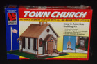 Life Like Trains Town Church Company HO Scale Building Model Kit New