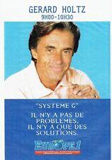 PUBLICITE ADVERTISING 0217  1995   radio Europe1  Gérard Holtz