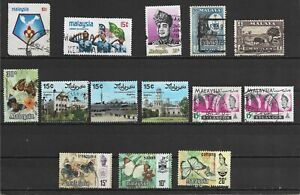 Malaysia - different stamps
