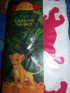 "NEW Disney The Lion King Simba Balloon Valance 80 x 14"""