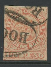 GN STAMPS- COLOMBIA, USED, #57, BOGOTA CANCEL, GREAT CENTERING