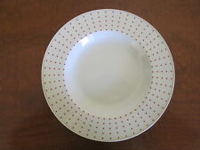 Eschenbach PORZELLAN - Germany, Orange Dots on White Dinner Plate(s)