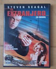 DVD El Extranjero,Steven Seagal