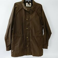 THE NORTH FACE- MEN'S LARGE BROWN GORE-TEX NYLON FULL ZIP JACKET