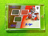 BAKER MAYFIELD AUTO ROOKIE JERSEY CARD AUTOGRAPHED #/399 RC 2018 Absolute RPA SP
