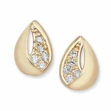 Cubic Zirconia Unbranded Gold Fine Jewellery