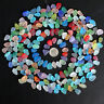 Small 10 Pieces Top Drilled Beach Sea Glass Beads Pendant For Jewelry Use