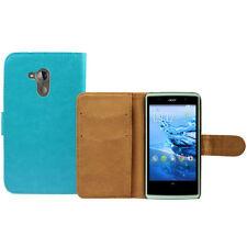 Fundas con tapa de piel sintética para teléfonos móviles y PDAs Acer