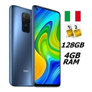 XIAOMI REDMI NOTE 9 DUAL SIM 128GB 4GB RAM GREY GARANZIA ITALIA NO BRAND