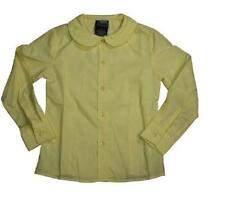 French Toast Girls Uniform Shirt, Yellow, Long Sleeve, Size 18 Plus, New!