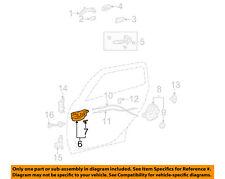 TOYOTA OEM-Interior Inside Door Handle Right 6920502090B0