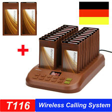 Church Cafe Hospital Restaurant Wireless Paging Queuing System 22*Coaster Pagers